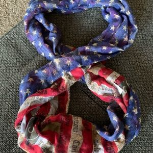 We The People Flag infinity scarf